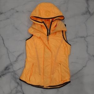 Lululemon Glacier Vest Burning Yellow Size 4